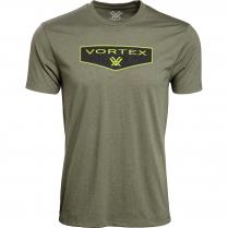 Vortex Men's T-Shirt: Military Heather Shield