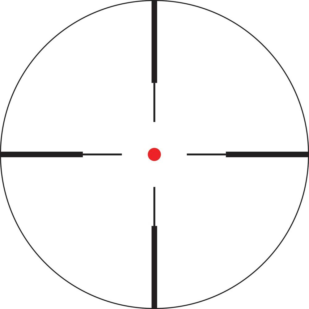 Lunette de tir Crossfire II 3-9x40 1-pouce avec réticule V-Brite de Vortex