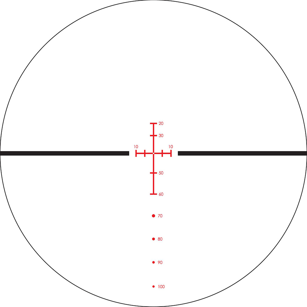 Lunette de tir Arbalètes Crossfire II 2-7x32 30mm avec réticule XBR-2 de Vortex