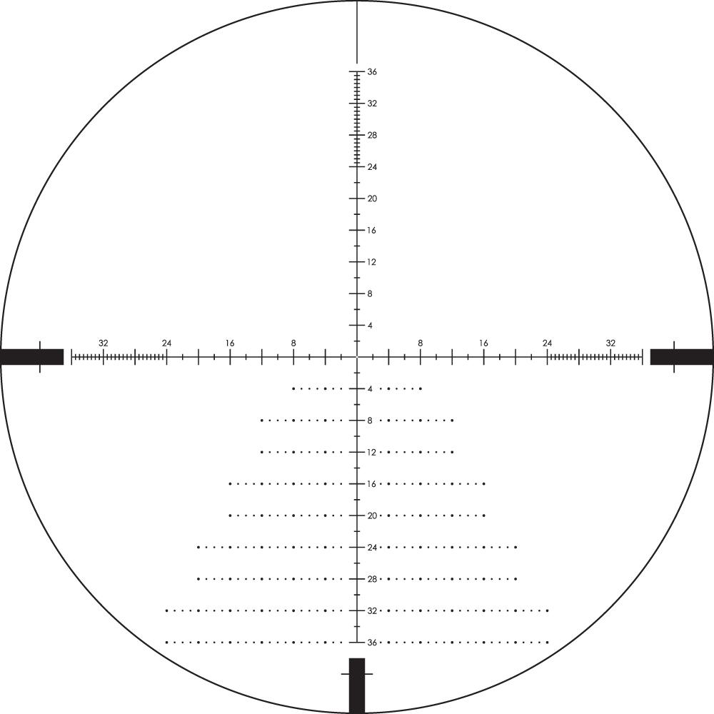 Diamondback Tactical 4-16x44 FFP Riflescope EBR-2C MOA