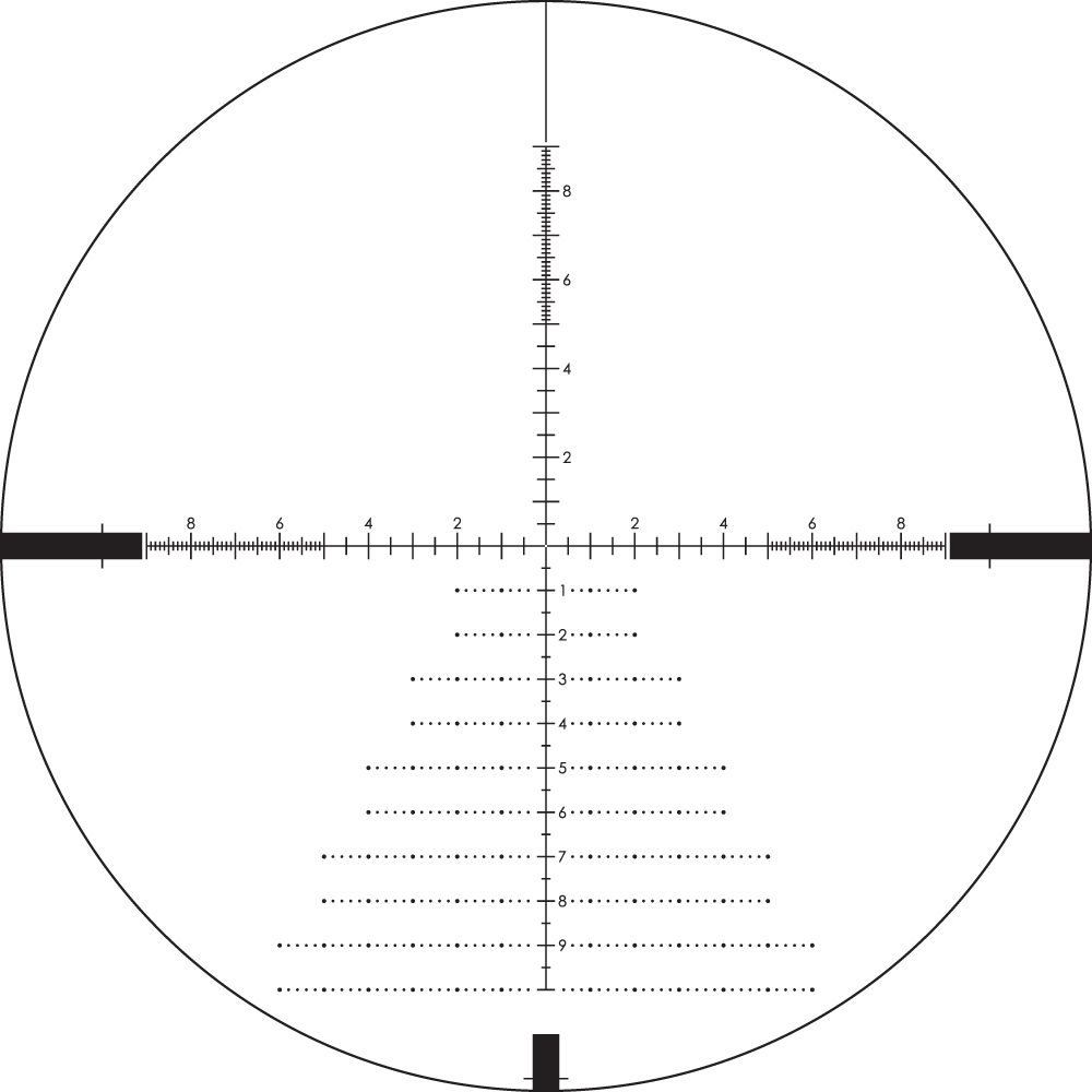 Diamondback Tactical 4-16x44 FFP Riflescope EBR-2C mrad