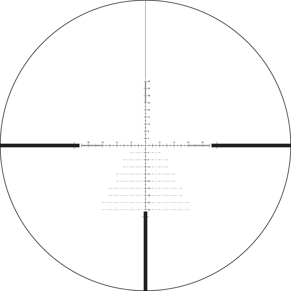 Diamondback Tactical 6-24x50 FFP Riflescope EBR-2C MOA