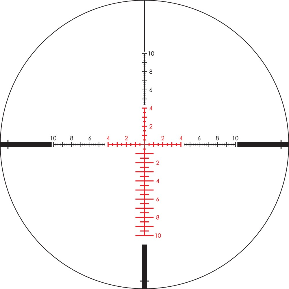Vortex Viper PST 2-10x32 FFP Riflescope with EBR-4 MRAD