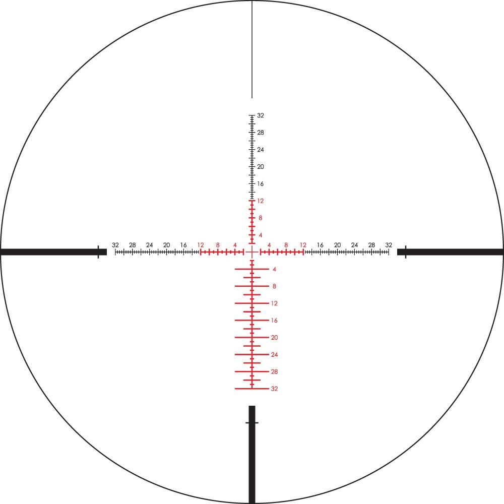 Lunette de tir Viper PST 3-15x44 SPF avec réticule EBR-4 MOA de Vortex