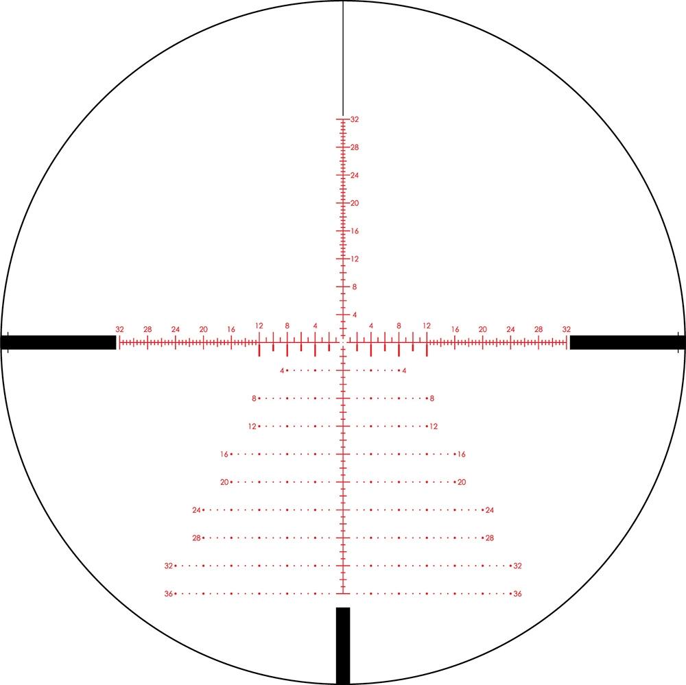 Vortex PST Gen II 3-15x44 FFP EBR-7C MOA