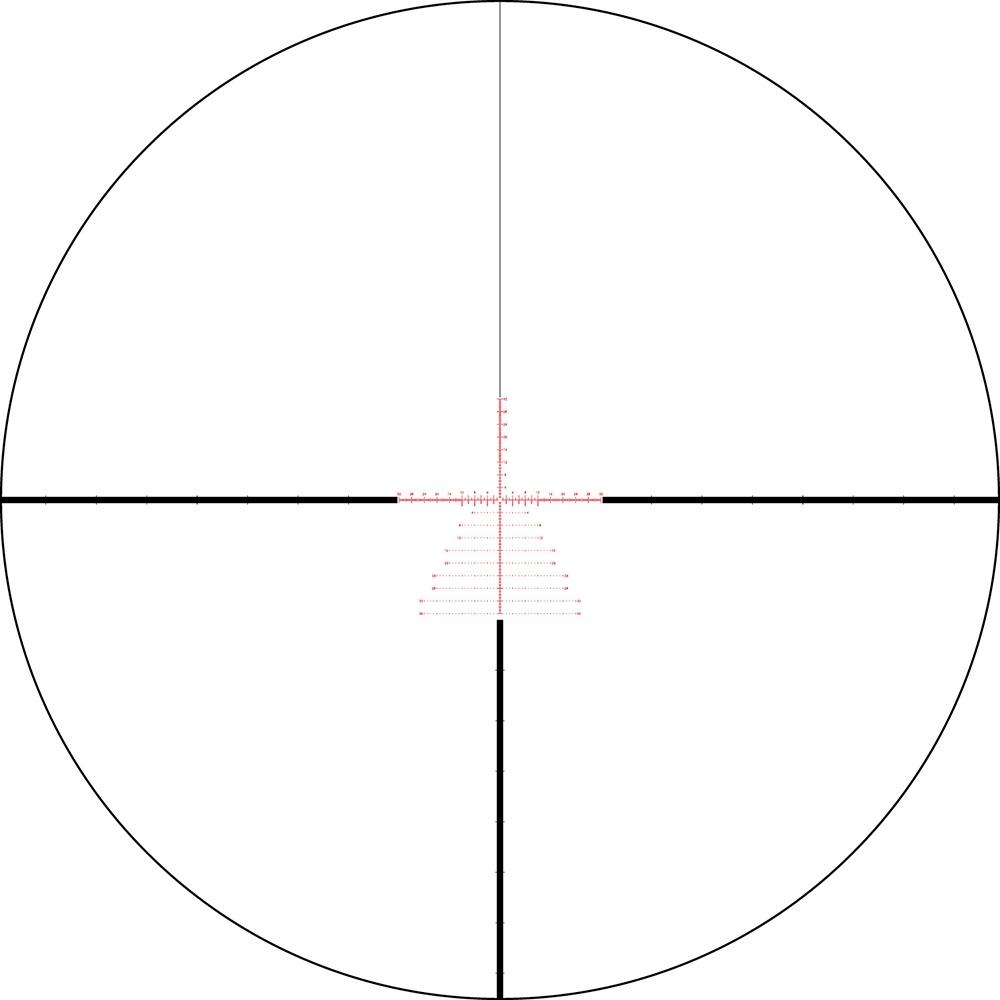 Lunette de tir Viper PST 5-25x50 PPF avec réticule EBR-7C MOA de Vortex