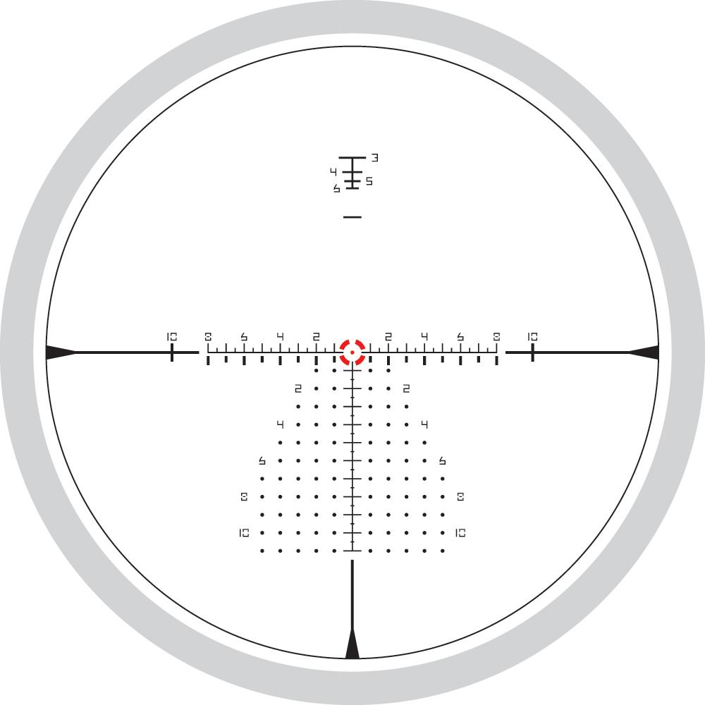 Lunette de tir Razor HD Gen III PPF avec réticule EBR-9 mrad