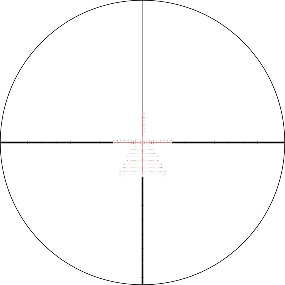 Lunette de tir Razor HD Gen II 3-18x50 PPF avec réticule EBR-7C MOA
