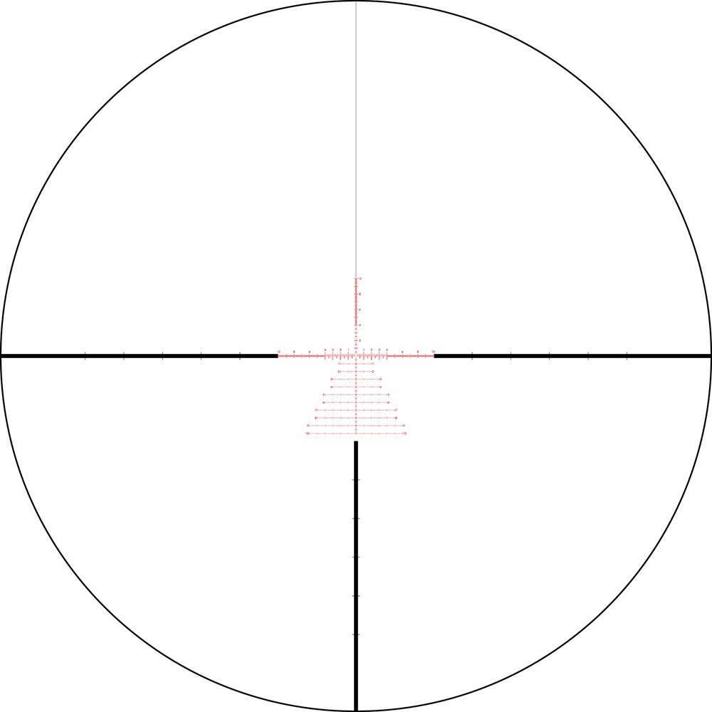 Lunette de tir Razor HD Gen II 3-18x50 PPF avec réticule EBR-7C mrad