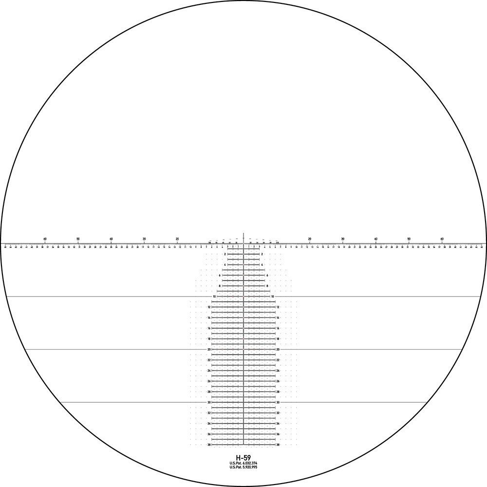 Vortex Razor HD Gen II 4.5-27x56 FFP H59 mrad
