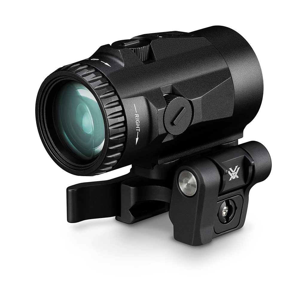 Vortex Micro 3x Magnifier with Quick-Release Flip Mount