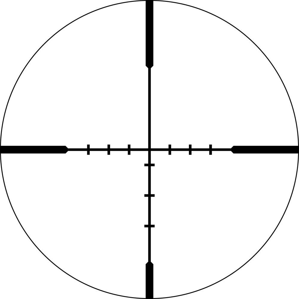 Lunette de tir Viper HS 2.5-10x44 SPF avec réticule BDC de Vortex