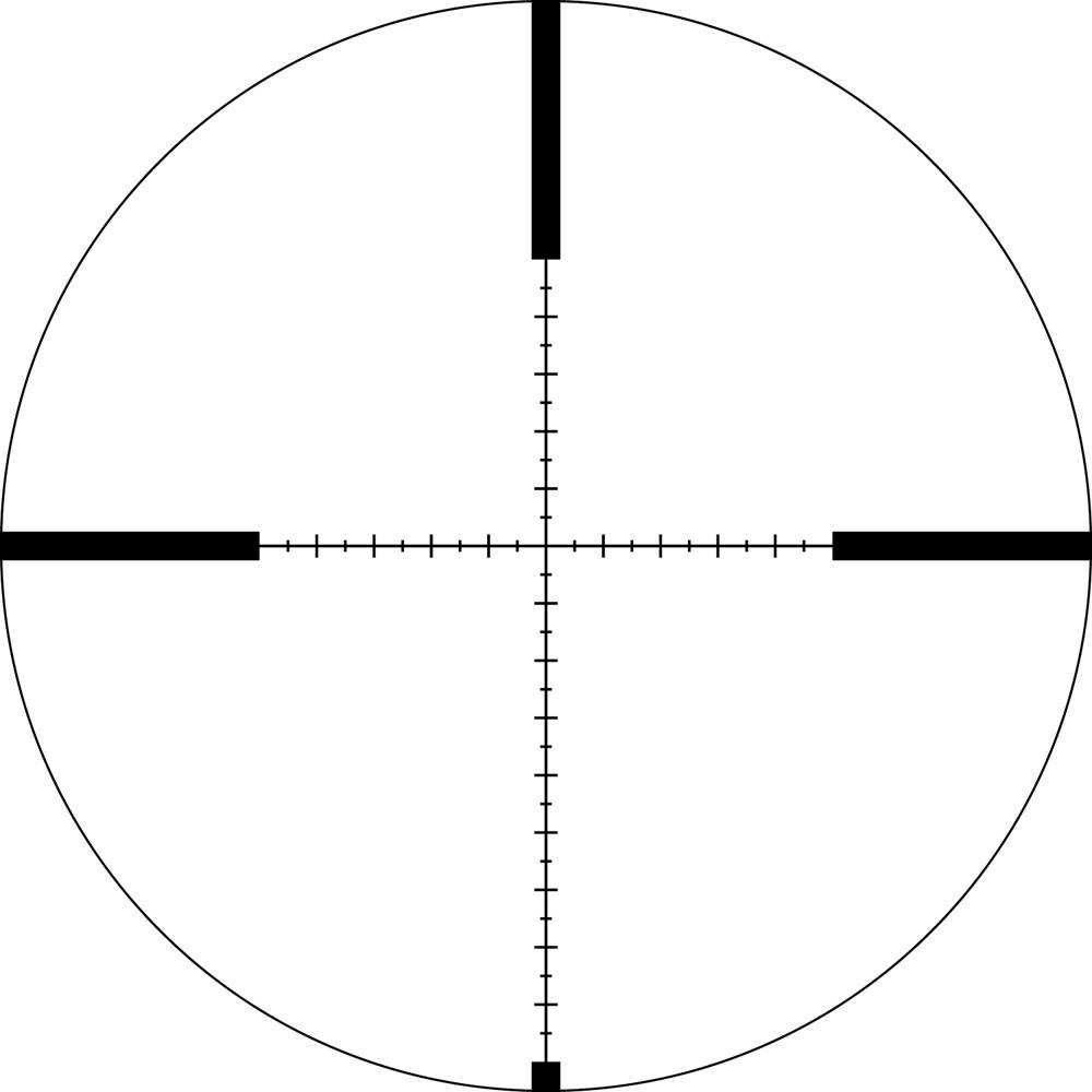 Lunette de tir Viper HS-T 6-24x50 SPF avec réticule VRM-1 MRAD de Vortex
