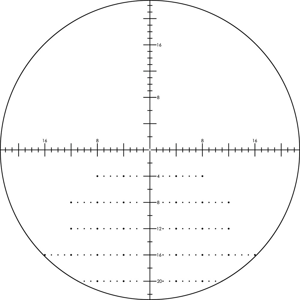 Vortex Viper HS LR 6-24x50 FFP Riflescope XLR MOA