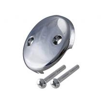 CP Bath 2 Hole Face Plate w/Screws #FP301WS