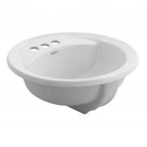 """Am Std 19"""" Rondalyn 4"""" CC VC Countertop Sink White #0491.019"""