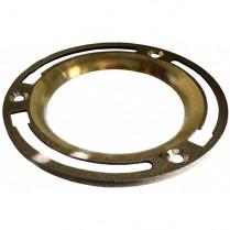 Flat Brass Floor Flange #CF-100