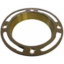 Deep Brass Floor Flange #CF-300