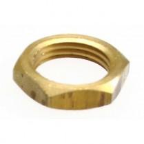 Basin Lock Nut Brass