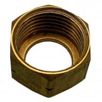 Basin Coupling Nut Brass