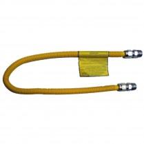 """60"""" Brasscraft 3/4"""" MIP x 1/2"""" FIP Gas Connector"""