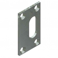 Latch Strike Plate for 128P10 or 128P12 Latch Horse Fooler