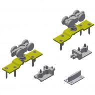 Hardware Pack: Trucks (Pr.) w/ Top Plate, Stops