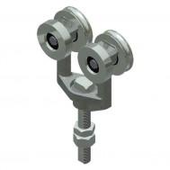 """Truck, BB. 7/8"""" Pend. 2500lb Cap (Standard)-Zinc (25B)"""