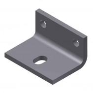 Sidewall Brackets, 5-Pack-Zinc