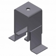 Overhead Center Bracket w/ Soffit Clips