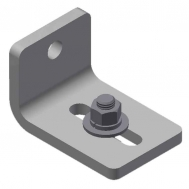 Long Sidewall Angle Bracket w. Fastener