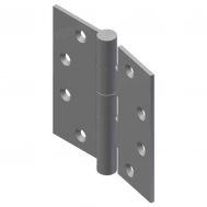 "5"" x 5"" Full Mortise Butt Hinge, Ball Bearing"