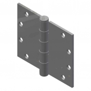 "5"" x 6"" Full Mortise Butt Hinge, Ball Bearing"