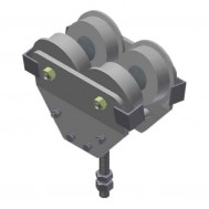 1/2 Ton I-Beam Trolley (1,000lbs) [Beam Size]-USP