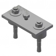 Leveling Plate Assembly w/ Leveling Shims-USP  SCW