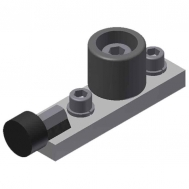 Top Guide Roller and Stop-Black (315-22) SCW