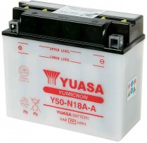 Y50-N18A-A   MOTORCYCLE BATTERY 12V  20AH