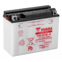 Y50-N18L-A   MOTORCYCLE BATTERY 12V  20AH