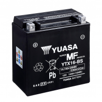 YTX16-BS   MOTORCYCLE BATTERY 12V  14AH