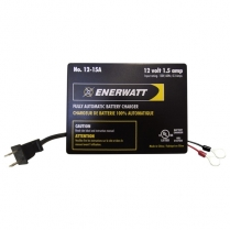 12-15A   CHARGER 12V 1.5A AUTOMATIC ENERWATT