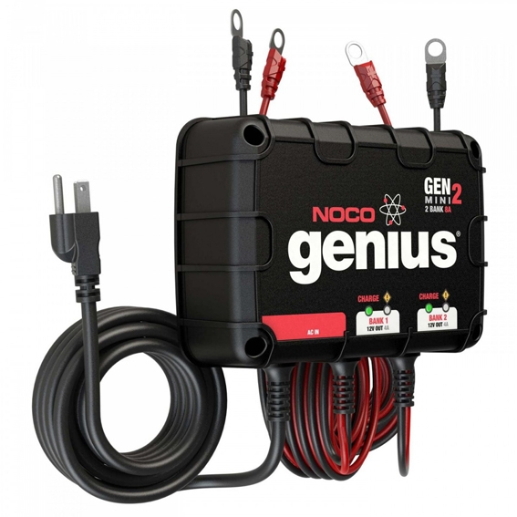 GENMINI2 chargeur 2 bank 12V 4A/bank automatique