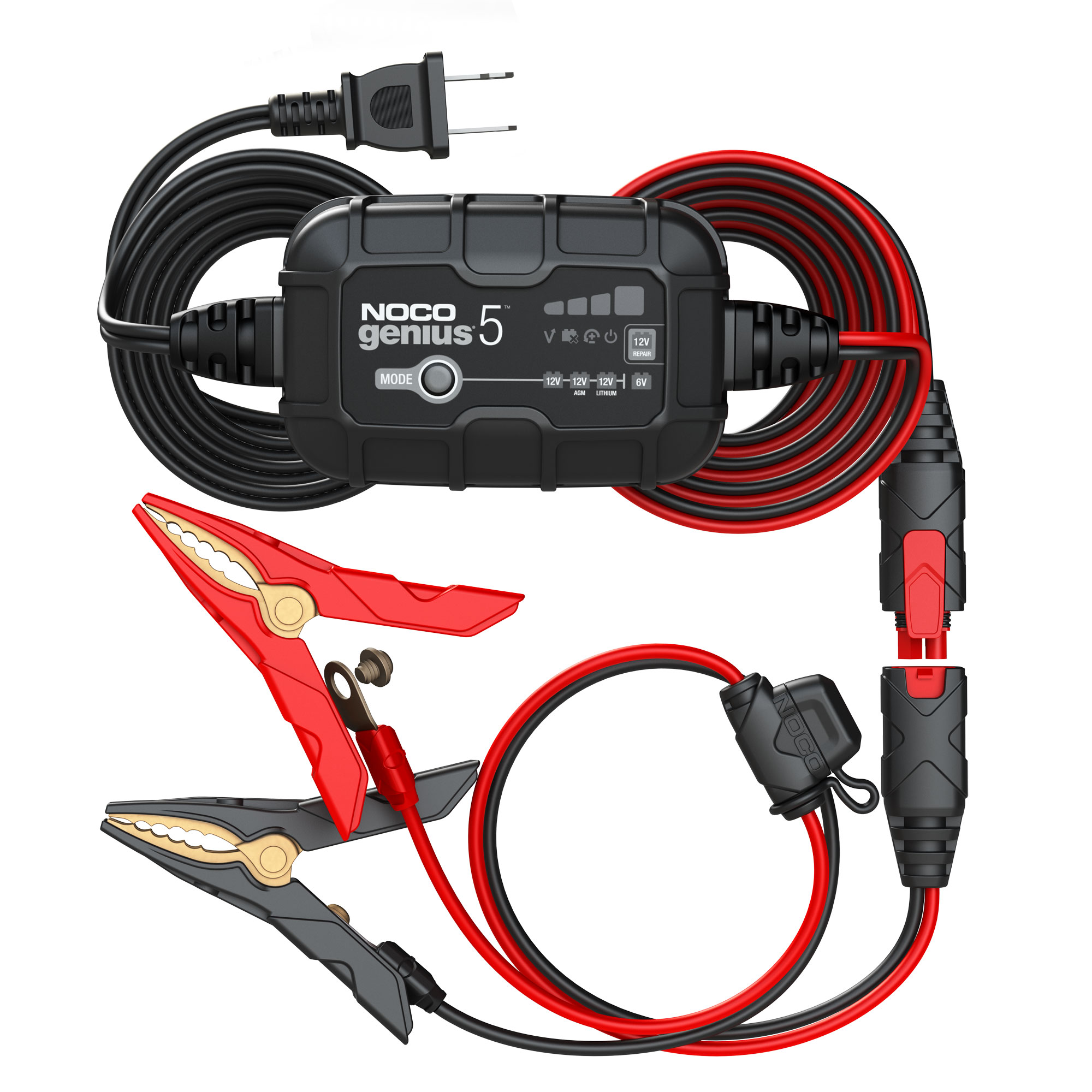 GENIUS5   AUTOMATIC CHARGER 6/12V 5A AGM/LITHIUM