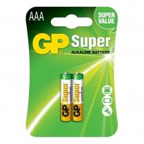 GP24A-2U2  Alkaline battery AAA 1.5V GP Super (card of  2)