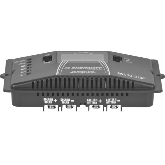 EWC-30   CONTROLLER 12V 30A METER ENERWATT