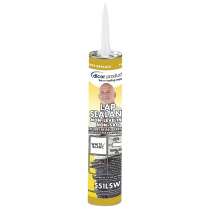 40401   WHITE  LAP ROOF SEALANT EPDM  FOR VERTICAL SURFACES (551LSW)