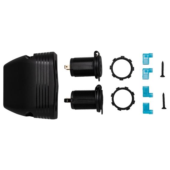 EWA-CON28   DUAL USB PORT AND 12V CONNECTOR ACCESSORY