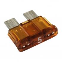 QC509125-100  FUSIBLE À LAME STD ATC/ATO 5A TAN (100/PQT)