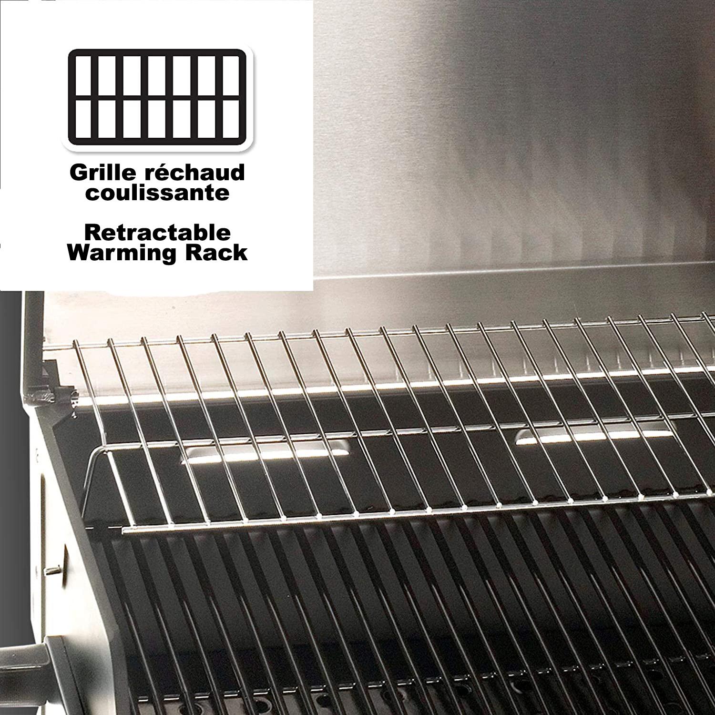 GR-14   PORTABLE BBQ PROPANE 14,000 BTU