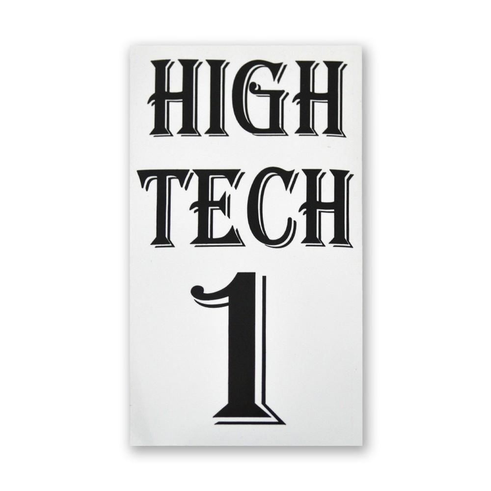 Decal- High Tech