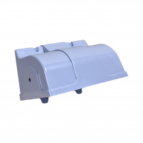 Molded Gray 3 Roll TP Holder